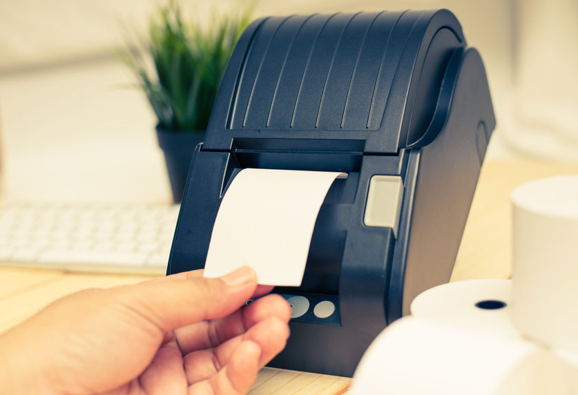 Office equipment, A point of sale receipt printer