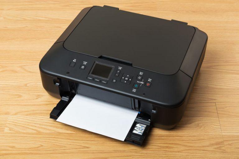 zwarte printer