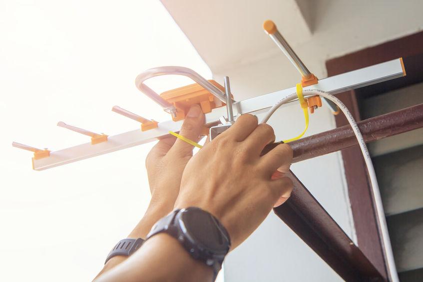 signaalversterker installeren