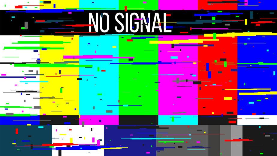 tv-beeld geen signaal