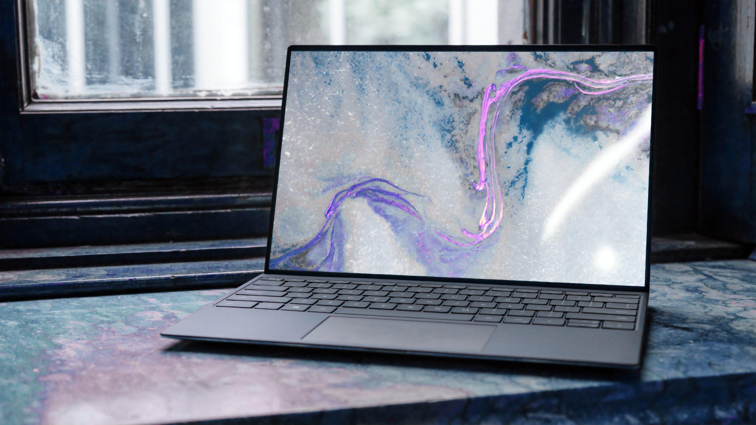 moderne laptopcomputer