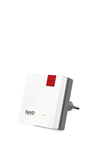 AVM FRITZ!WLAN Mesh Repeater 600 WLAN N tot 600 MBit/s (2,4 GHz), WPS, compact ontwerp, Duitstalige versie)