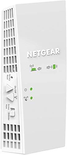 Netgear Mesh WLAN repeater WLAN versterker & super boost wifi AC1750. 1750 Mbps bianco