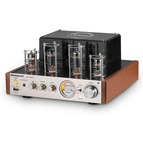 Nobsound MS-10D MKII Tube versterker Bluetooth / USB / Hoofdtelefoon Amp BASS&Treble HiFi versterker Audio Receiver Stereo buisversterker