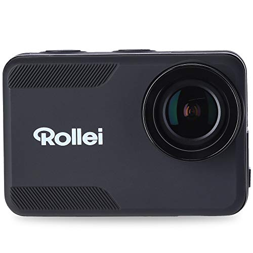 Rollei Action-Cam 6s Plus I 4K 30fps onderwatercamera waterdicht tot 10m diepte, timelapse, slow-motion, loopfunctie I incl. 7-delige beugels