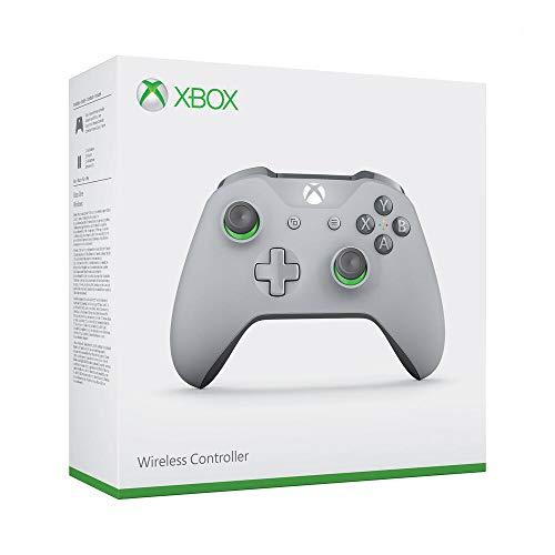 Microsoft Xbox One Branded WL Controller C EN/FR/DE/IT/PL/PT/RU/ES GREY/GREEN EMEA 1 License (Xbox One)