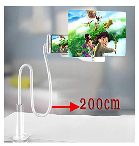 Vergrootglas, 3D Telefoonscherm Vergrootglas Versterker Vergroter Telefoonvergroter Schermstandaard 8