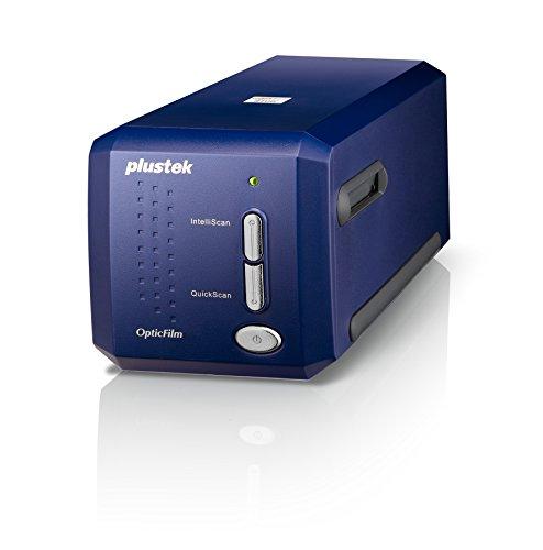 Plustek OpticFilm 8100 35mm Dia/Negatief Filmscanner (7200 dpi, USB) incl. SilverFast SE Plus 8 Software