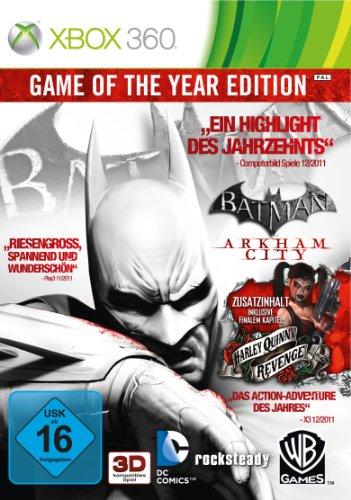Batman Arkham City spel van het jaar - Microsoft Xbox 360