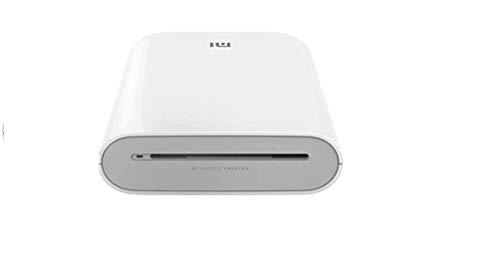 Xiaomi Draagbare fotoprinter, 300 dpi Pocket Mini AR, fotoprinter, 500 mAh, fotoprinter, zinkpapierprinter, wit, A8, TEJ4018GL