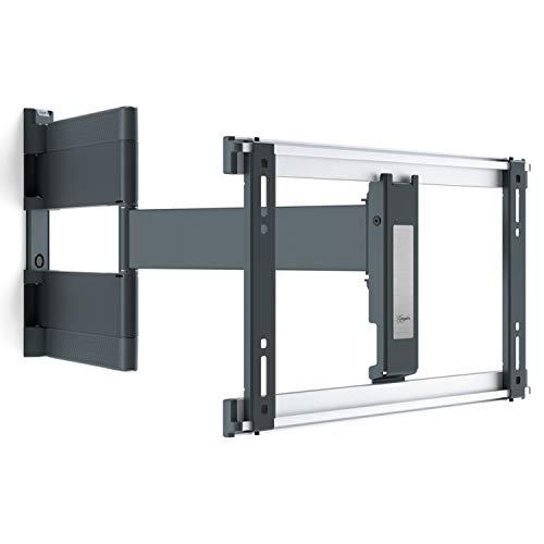 Vogel's THIN 546 ExtraThin draaibare televisiebeugel voor 40-65 inch OLED TV's Draaibaar tot 180° TV steun geschikt voor televisies met een gewicht tot 30 kg en VESA 100x100 tot 400x400, Zwart