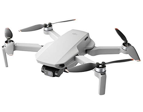 DJI Mini 2 - Ultralichte en opvouwbare Drone Quadcopter, 3-Axis Gimbal met 4K Camera, 12MP Foto, 31 Minuten Vliegtijd, OcuSync 2.0 HD Videotransmissie, Mavic Mini, QuickShots met DJI Fly App
