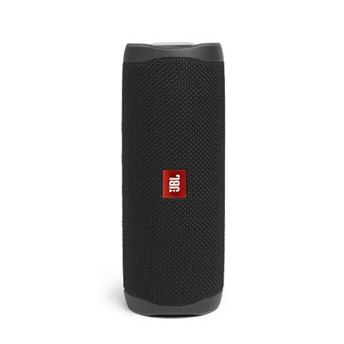 JBL Flip 5 draagbare Bluetooth-luidspreker met oplaadbare batterij, waterdicht, compatibel met PartyBoost, zwart