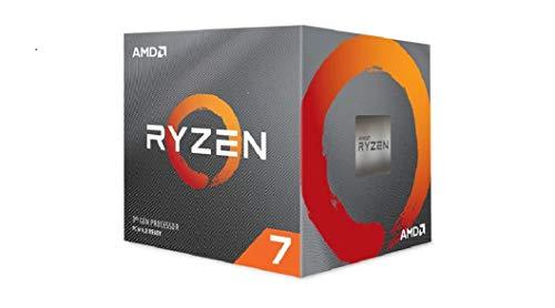 AMD Ryzen 7 3800X Processor, 4,5 Ghz, 8 Core, 16 Threads, AM4 36MB Cache Wraith Prism