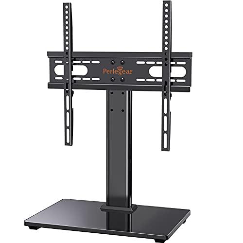 TV standaard, tv-standaard voor 37-55 inch OLED LCD plasma platte & gebogen tv of monitoren tot 40 kg. Max. VESA 400 x 400 mm