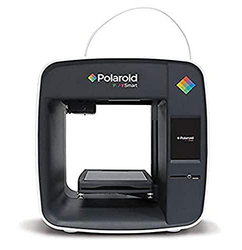 Polaroid 5.03194E+12 3D-printer, gemakkelijk te gebruiken met gratis 1 kg filament en een PriceHolder Polaroid Playsmart 3D-printer, Zwart, 3,5 inch