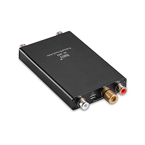 DollaTek Platenspeler MM Phono voorversterker Hi-Fi Audio Stereo Phonograaf voorversterker Phono Stage Mini voorversterker voor platenspeler