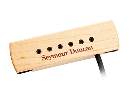 Seymour Duncan SA-3XL Rosace Woody Hum-Canceling Serie akoestische gitaar pick-up bruin