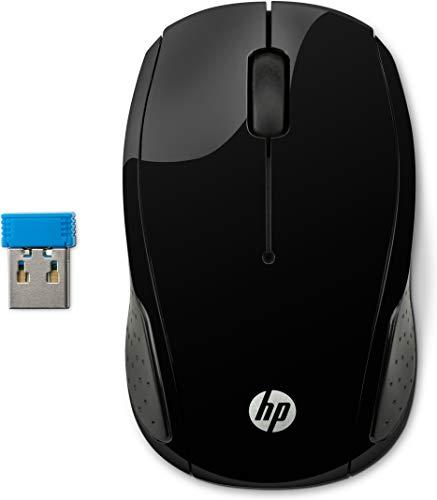 HP 200 Draadloze Muis (Wireless USB) Zwart
