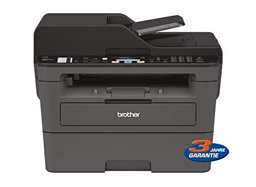 Brother MFCL2710DW, Multifunctionele Printer, LAN, WiFi, Donkergrijs/Zwart