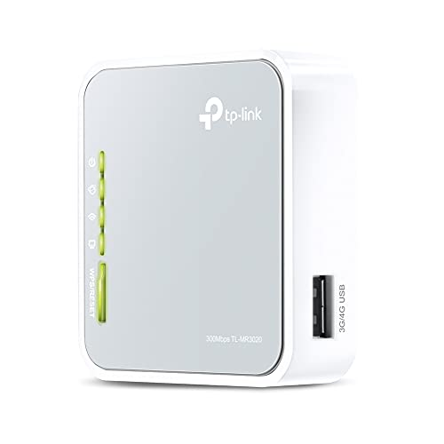 TP-Link 150Mbps draagbare 3G / 4G-router (TL-MR3020)