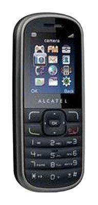 Alcatel OT 303 mobiele telefoon (4,5 cm (1,8 inch) display, FM met RDS) grijs