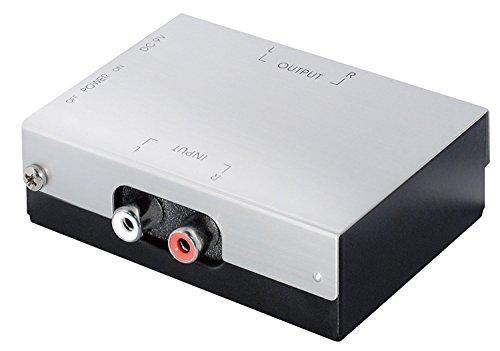 Geluidsarme stereo phono voorversterker