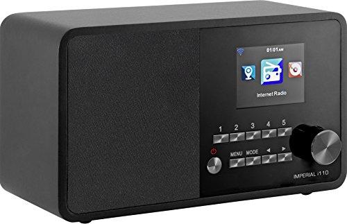 Imperial 22-321-00 i110 internetradio (TFT kleurendisplay, WLAN, line-out, voeding) zwart