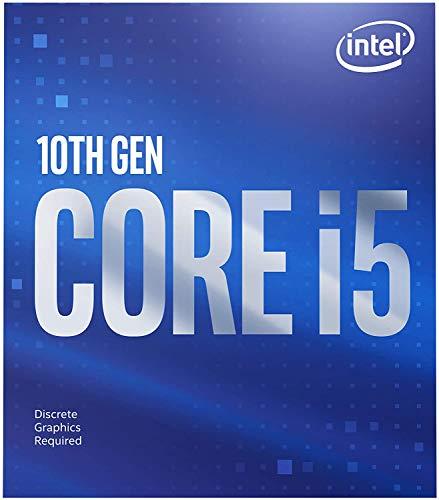 Intel Core i5-10400F (basistakt: 2,90 GHz; sokkel: LGA1200; 65 Watt) Box