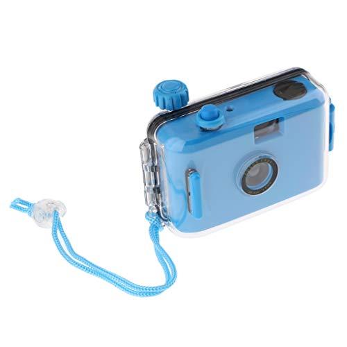 #N/A Leuke 35 mm Mini Lomo waterdichte onderwatercamera met blauwe behuizing
