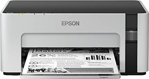 Epson EcoTank ET-M1120 Navulbare zwart-witprinter (singlefunctie, DIN A4, wifi, USB 2.0) grote inkthouder, hoog bereik, lage kosten per pagina