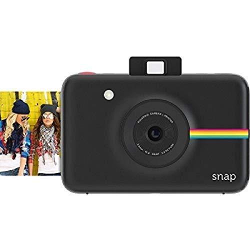 Polaroid Digitale instant snap camera met ZINK Zero Ink technologie, zwart