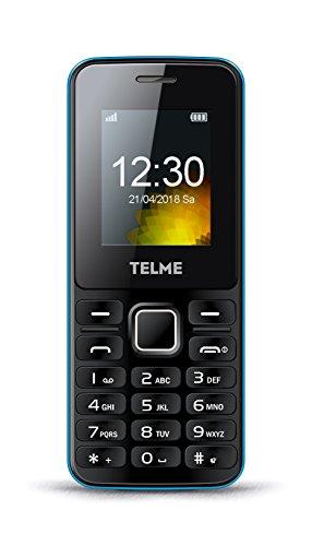 TELME T211_001 Mobiele telefoon (Dual SIM met eenvoudige camera)