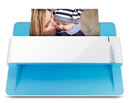 Plustek Foto scanner - ePhoto Z300, Duitse Design Award 2018, scant 4x6 foto in 2sec, automatische uitlijning en snijden met CCD-sensor. Ondersteunt Mac en PC