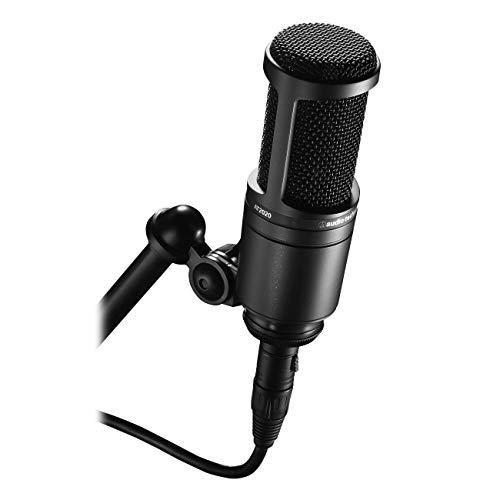 Audio Technica Condensatormicrofoon met nier-richtingskarakteristiek.