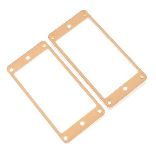 Fenteer Humbucker pickups frame ring montage voor LP elektrische gitaar accessoires voor muziekinstrumenten Crème