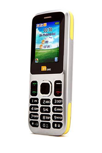 TTfone TT130 mobiele telefoon zonder simlock, 2G, 11,4 cm (1,77 inch), Dual SIM