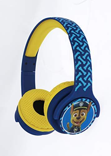 OTL Technlogies Paw Patrol Chase Kids draadloze hoofdtelefoon voor kinderen (officieel gelicentieerd product)