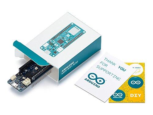 Arduino MKR WiFi 1010 development board ARM Cortex M0+ - Arduino MKR WiFi 1010, ARM Cortex M0+, 48 MHz, 0.256 MB, 32 KB, Arduino, 25 x 61.5 mm