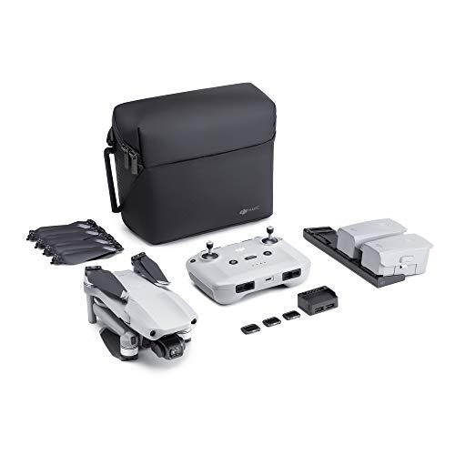 DJI Mavic Air 2 Fly More Combo - Drone quadcopter UAV met 48 megapixel camera, 4K-video, 1,3 cm CMOS-sensor, een gimbal met 3 assen, 34 minuten vliegtijd, ActiveTrack 3.0 - grijs