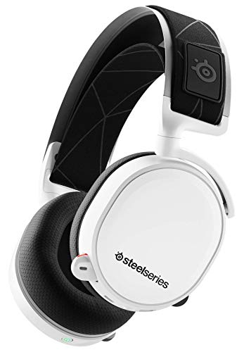 SteelSeries Arctis 7 - Draadloze Gaming Headset zonder kwaliteitsverlies - DTS Headphone:X v2.0 Surround - PC, PlayStation 5 - Wit