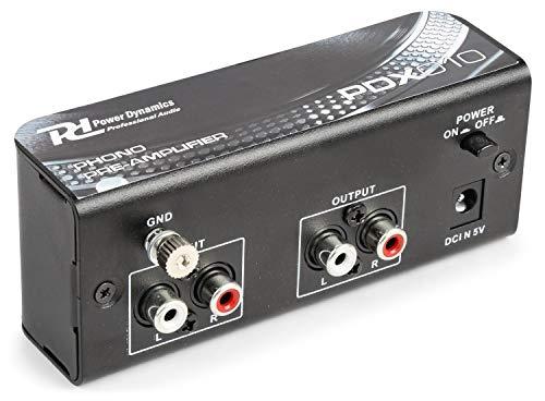 Power Dynamics PDX010 Phono voorversterker met RIAA correctie