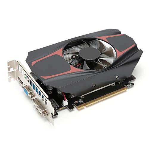 HD7670 grafische gamingkaart, 4 GB 128-bits DDR5 650 MHz videokaart weergeven, PCI 3.0 grafische kaartsleuf, 480 stream processoreenheid Computercomponenten