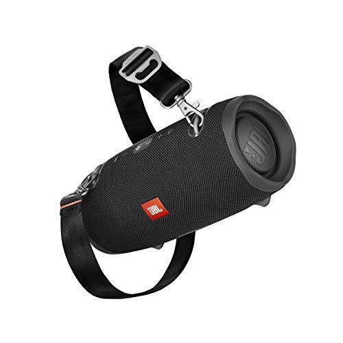 JBL Xtreme 2 muziekbox in zwart – waterdichte, draagbare stereo Bluetooth speaker met geïntegreerde powerbank – met slechts één batterijlading tot 15 uur muziekgenot