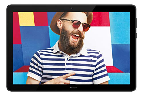 Huawei MediaPad T5 WiFi Tablet-PC 25,6 cm (10,1 inch), Full HD, Kirin 659, 3 GB RAM, 32 GB intern geheugen, Android 8.0, EMUI 8.0, zwart
