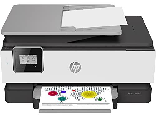 HP OfficeJet 8012, Draadloze Wifi kleuren inktjet printer voor thuis (Printen, kopiëren, scannen)