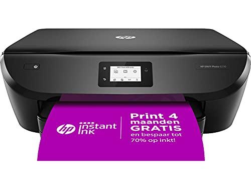 HP ENVY PHOTO 6230 All-in-One, Draadloze Wifi kleuren inktjet printer voor thuis (Afdrukken, kopiëren, scannen) Inclusief 4 maanden Instant Ink
