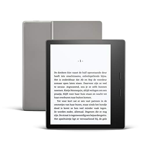 Kindle Oasis, nu met instelbare warme lichtkleur, waterdicht, 32 GB, wifi, grafiet