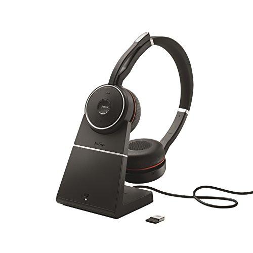 Jabra Evolve 75 MS Duo Professionele Bluetooth-Headset, Zwart