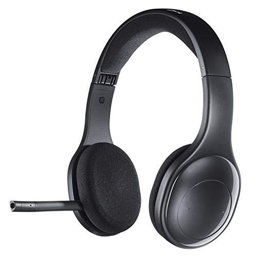 Logitech H800 Bluetooth Wireless Headset, Zwart